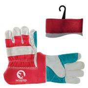 Перчатки комбинированные, Усиленные ,спилок +хб, С28Л3
